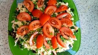Салат с грудкой, грибами и сыром! EDILKA. Домашняя кухня - рецепты на каждый день.