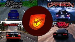 Dodge Viper Evolution in NFS Games - 4k