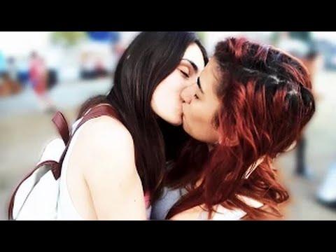 Sexy lady kissing