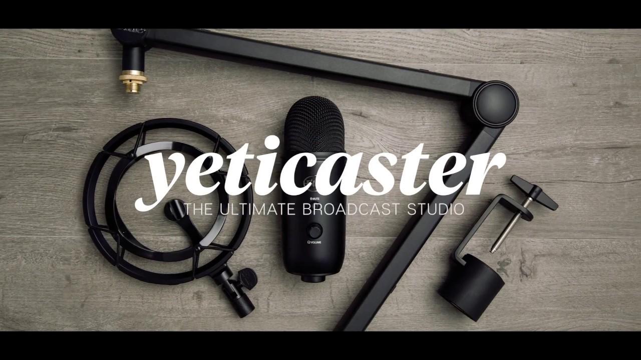 Blue Microphones Yeti Streamer Bundle mikrofon USB