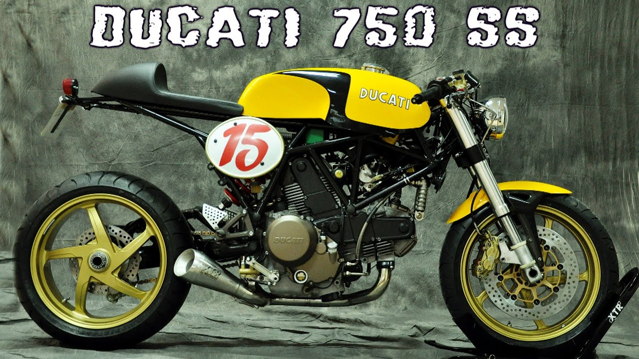 1998 ducati 750 ss cafe racer - youtube
