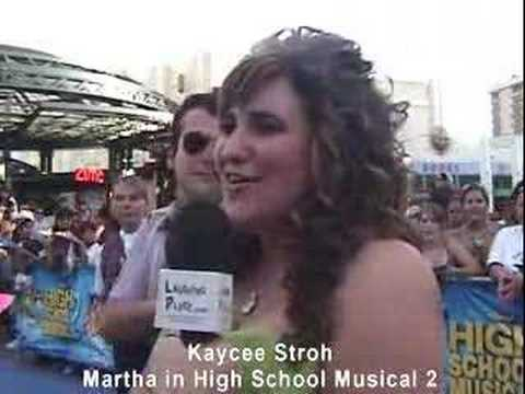 Kaycee Stroh at High School Musical 2 Premiere