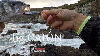 Jig CAIÓN REAL SARDINE en acción de pesca LETAL