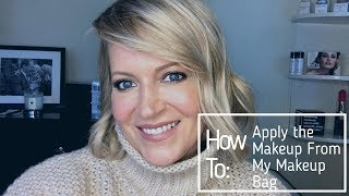 How To: Apply Makeup from my Makeup Bag
