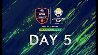fifa online 4 eacc spring 2019 day 5