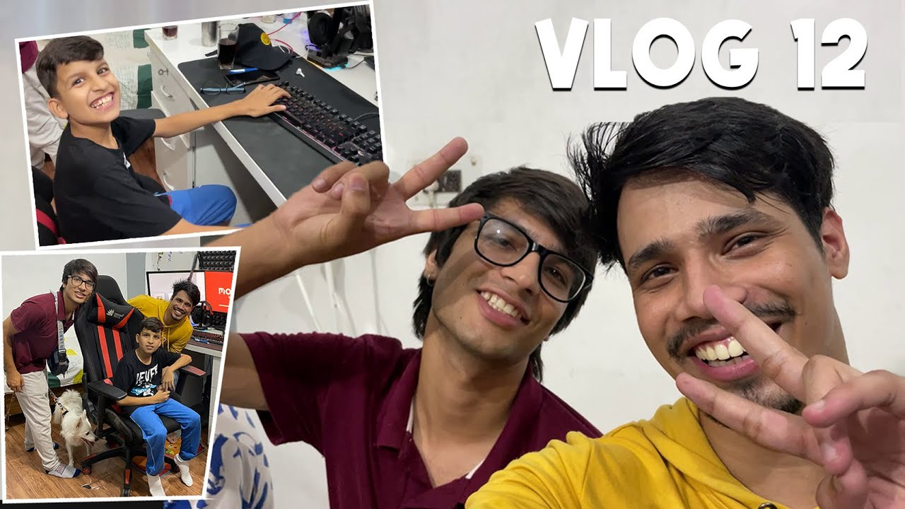 Download @Sourav Joshi Vlogs Came To My House With Piyush & Sahil 😍