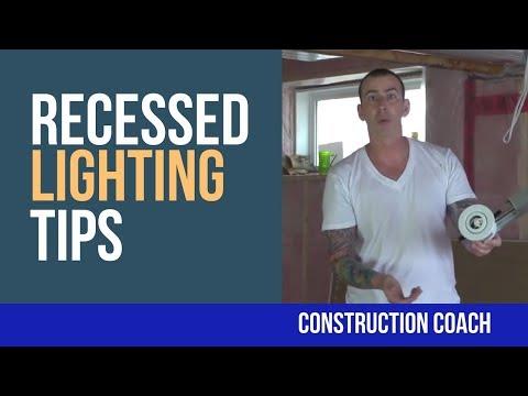Recessed Lighting Tips