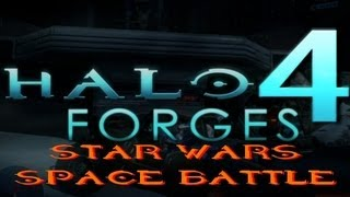 Halo 4 Forges - Star Wars Space Battle