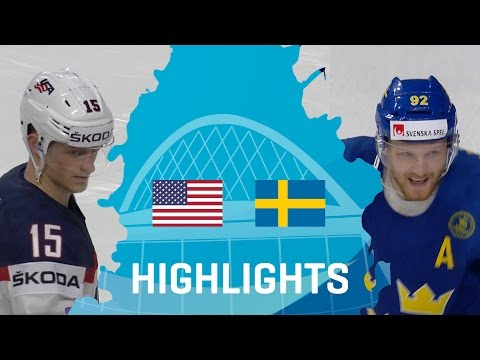 USA - Sweden | Highlights | #IIHFWorlds 2017
