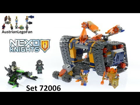 Lego Nexo Knights 72006 Axl's Rolling Arsenal - Lego Speed Build Review
