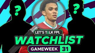 FPL Watchlist Gameweek 31 (players to target) | Fantasy Premier League Tips 2020/21