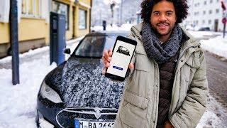 Tesla laden für 1€ dank dieser App!