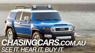 2014 Toyota FJ Cruiser SUV Review -- ChasingCars.com.au