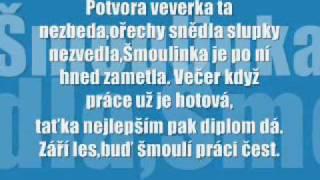 šmoulové-šmoulí akce zet plus text.wmv