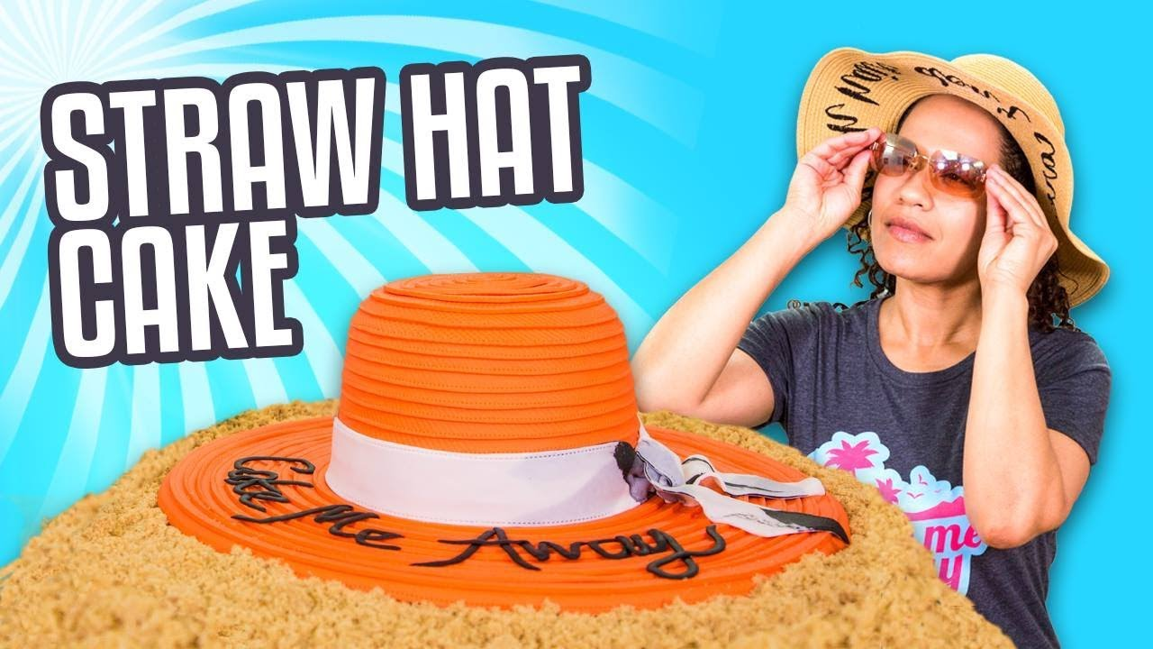 STRAW HAT CAKE!! | How To Cake It