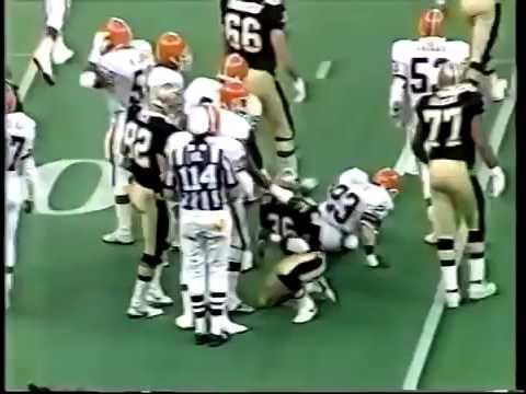 Cleveland Browns vs New Orleans Saints 1987 WK 1