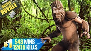 🔴 FORTNITE Lv.100 NEW BIGFOOT SKIN! NEW BALL! CODE -xiuderone