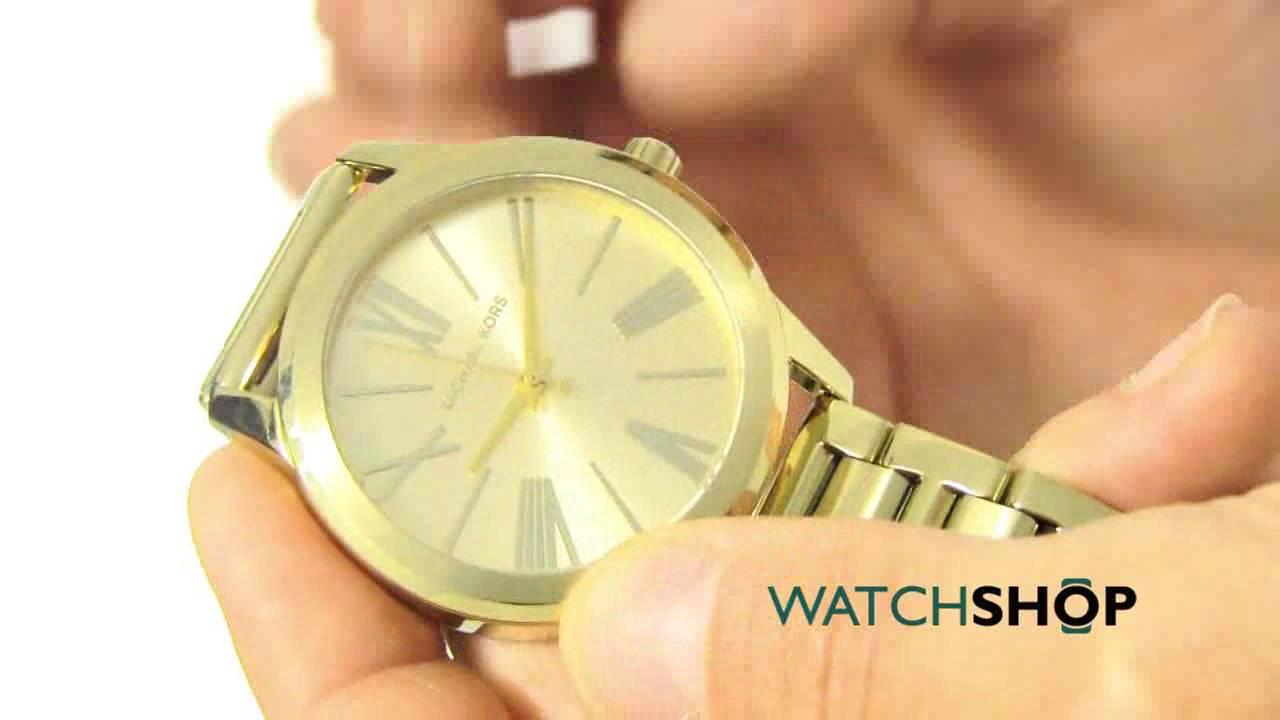 60c69036470e5 Michael Kors Ladies  HARTMAN Watch (MK3490) - YouTube