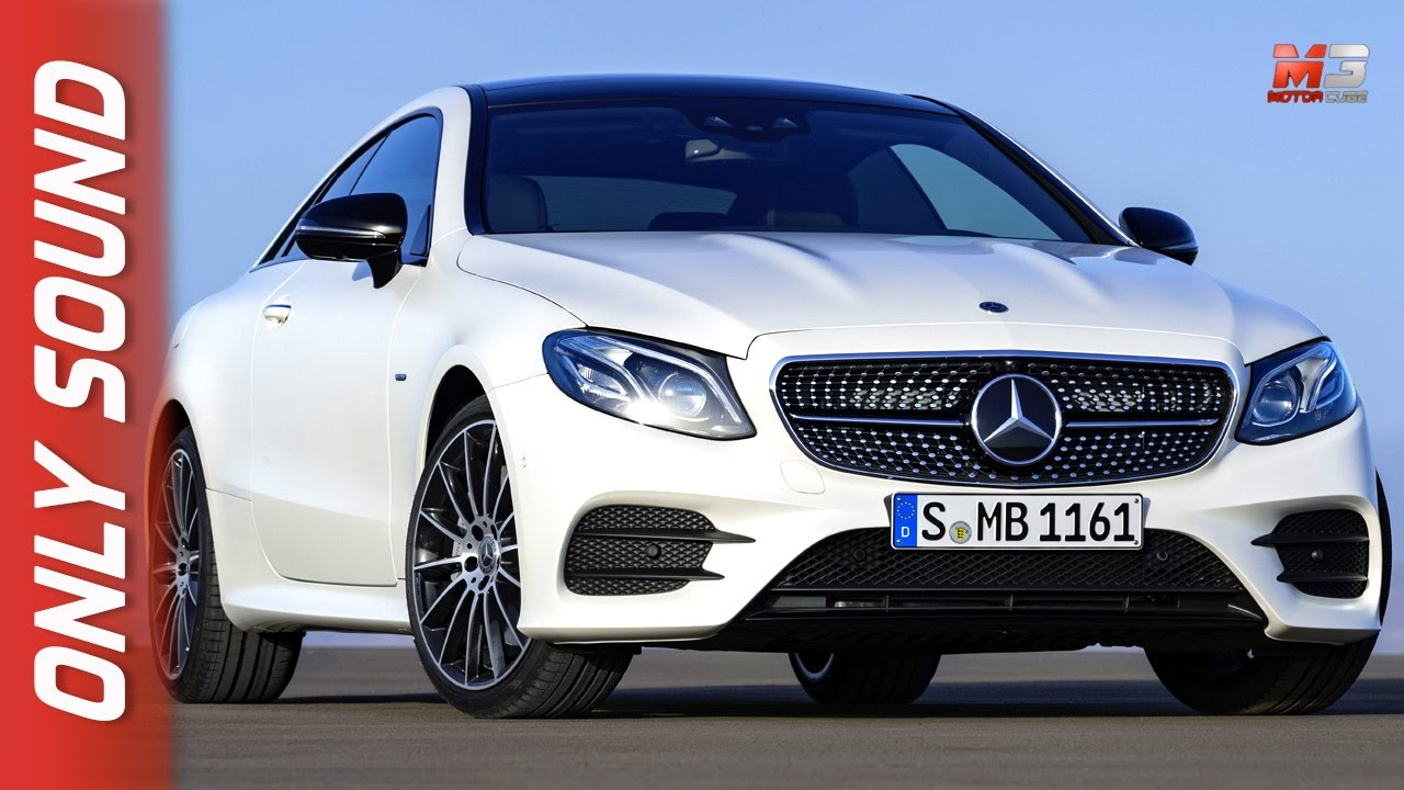 new mercedes classe e coupe 2017 first test drive only sound youtube. Black Bedroom Furniture Sets. Home Design Ideas