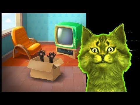 Игра радуга из кота тома