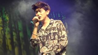 Eric Nam 1st Live NYC concert 2017 - Ending talk + Good For You + Body