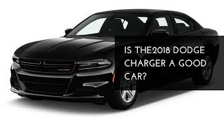 2018 Dodge Charger Review New Car 2018