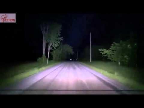 Single row led light bar demo on atv at night youtube aloadofball Gallery