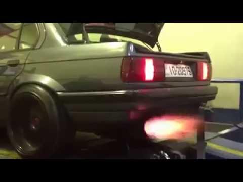 Full Tuned BMW E30 Dyno Test