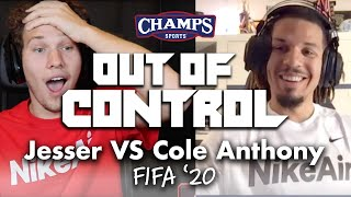 Future NBA star Cole Anthony shows Jesser how NOT to play FIFA | Out of Control