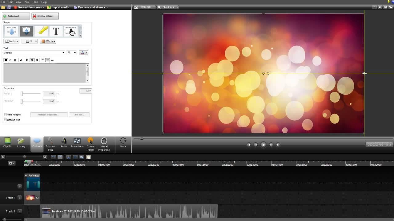 Как вставить текст в видео? (Camtasia Studio 8) - YouTube