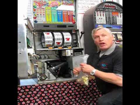 Filling A Slot Machine Hopper Youtube