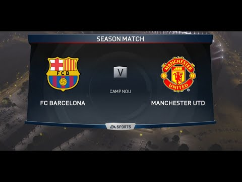FIFA 15 | Manchester United vs Fc Barcelona | Online Seasons