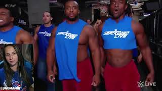 WWE Raw 10/23/17 Smackdown Backstage at RAW
