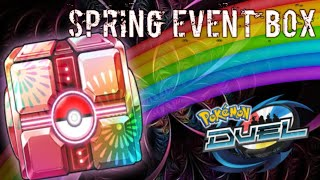Hype Spring booster opening Pokemon Duel