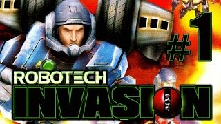 Robotech Invasion gameplay walkthrough Part 1 [PS2, XBOX]