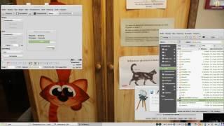 В линукс можно удалять открытые файлы и даже фильмы во время просмотра