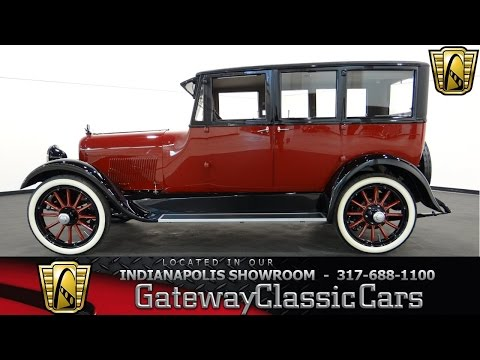 1920 Paige 6-24 Sedan #439-ndy Gateway Classic Cars - Indianapolis