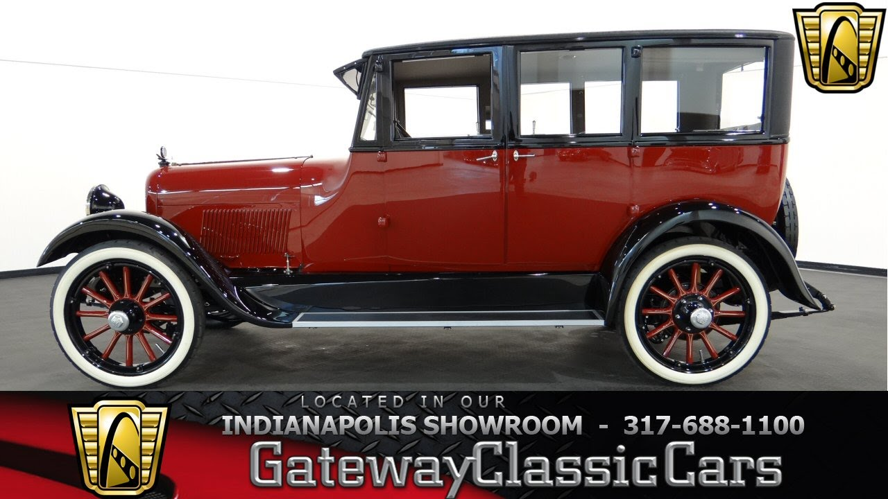 1920 paige 6 24 sedan 439 ndy gateway classic cars indianapolis youtube. Black Bedroom Furniture Sets. Home Design Ideas