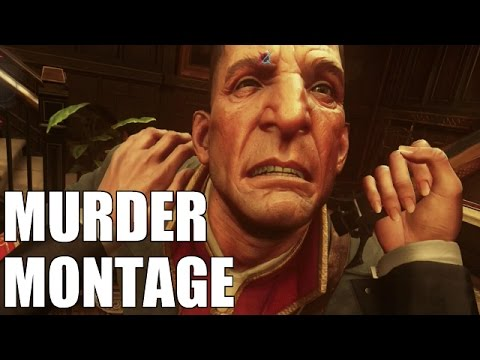 Dishonored 2 - Assassinating All Targets & Key Figures (Montage)*Spoilers* |