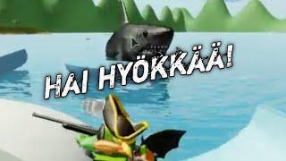 Roblox Suomi | Hai hyökkää! (SharkBite)