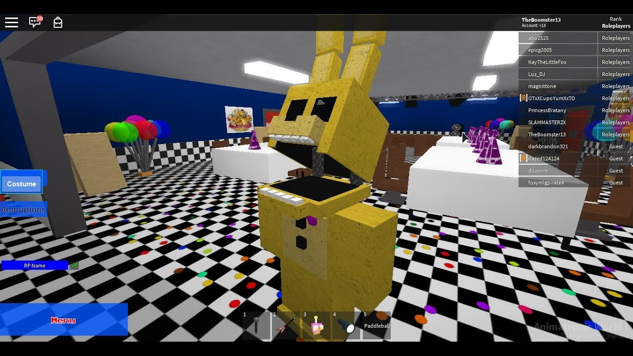 Roblox Five Nights At Freddy S Speedpaste S Spring Lock Death