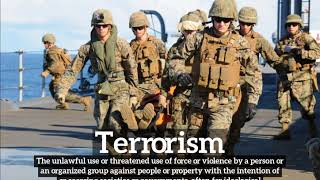 Terrorism Meaning, Pronounciation, Information, and Images | How to Say Terrorismin English?
