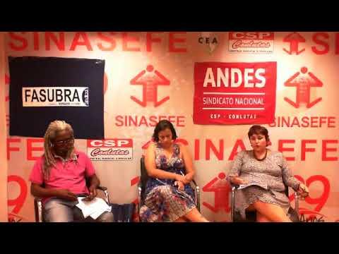 Live de SINASEFE, Andes-SN e Fasubra sobre o Future-se