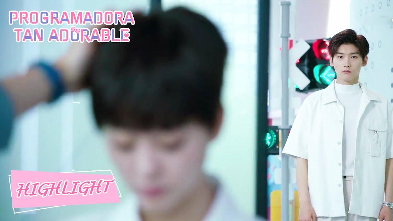 Highlight05 Jiang se pone celoso mirando al rival de amor.【Programadora Tan Adorable】 WeTV