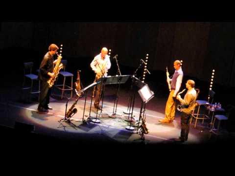 Joshua Redman, Mark Turner, Chris Cheek, Chris Potter @ Cité de la Musique, Paris 1/3