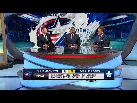 NHL Tonight:  TOR vs CBJ recap:  Breaking down theMaple Leafs` win vs Blue Jackets  Nov 19,  2018