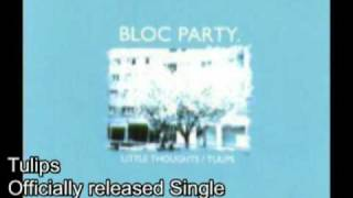 Bloc Party Discography (Singles & EPs)