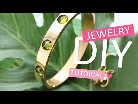 DIY Tutorial: Swarovski Perlen easy DIY – Selbst Schmuck machen