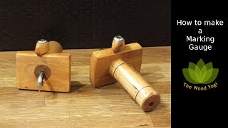 How to make my Marking Gauge - Woodworking Project