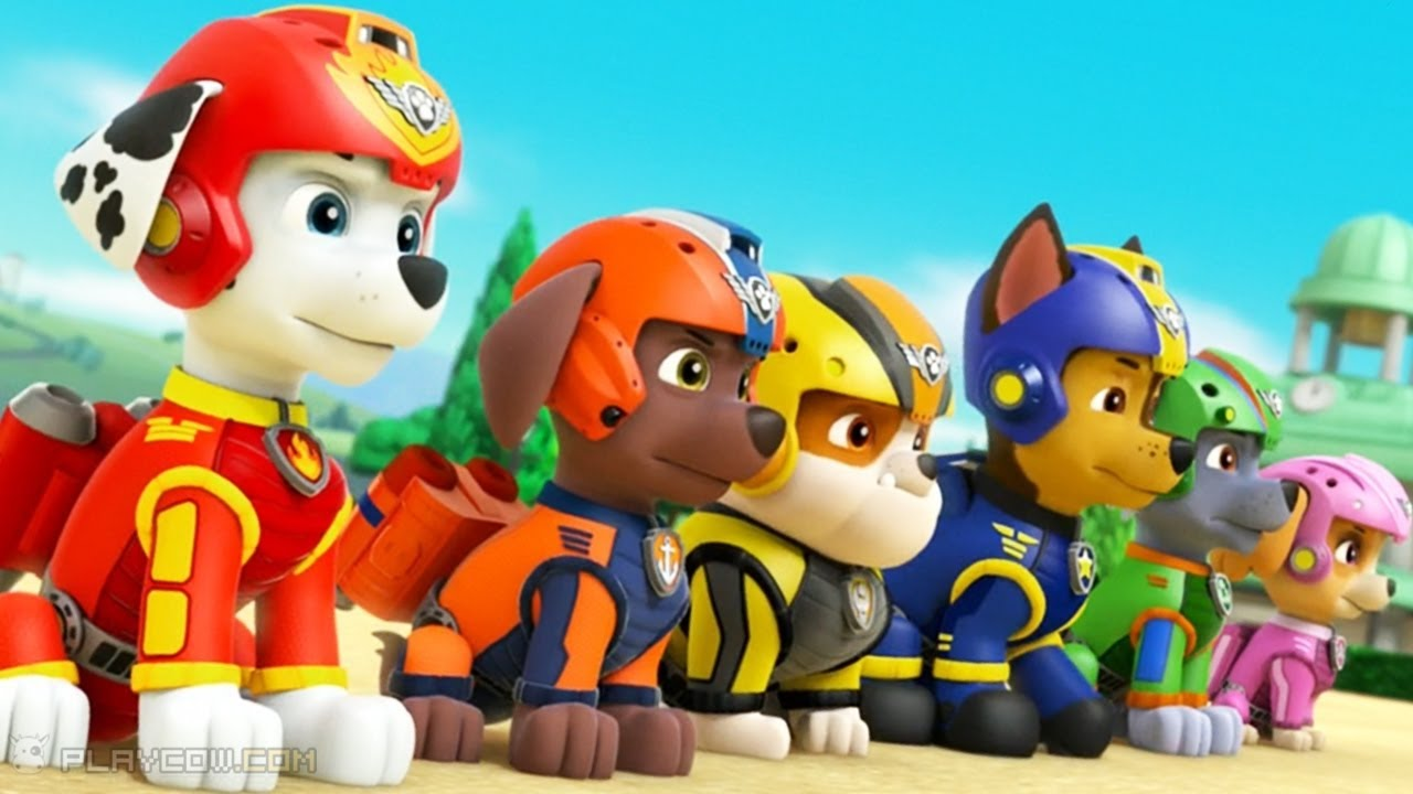 Color zuma game - Paw Patrol Coloring Pages Kids Learn Color Painting Page Marshall Rubble Everest Chase Zuma Rocky
